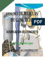 Diseño Mezclas- Método ACI