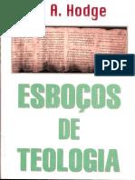 Esboços de Teologia A.A. Hodge