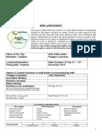 Risk Assessment Biketastic Nov 2015