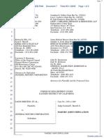 Bertino et al v. General Motors Corporation - Document No. 7