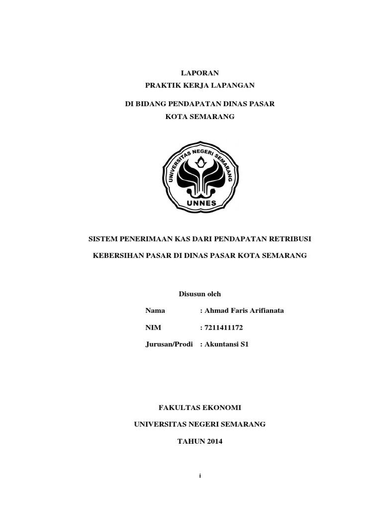 Lap Pkl Dinas Pasar Semarang