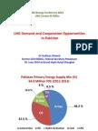 LNG Demande in Pakistan