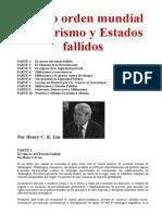 Nuevo orden mundial Terrorismo y Estados fallidos- Henry C K Liu