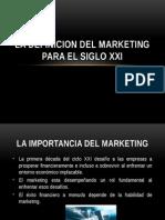 LA IMPORTANCIA DEL MARKETING