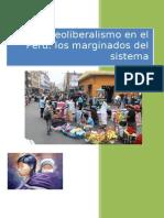 Ensayo El Neoliberlaismo en El Peru