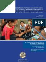 Educación en Derechos Humanos, Para Las Buenas Prácticas Democráticas