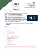 Training Sertifikasi K3 MIGAS Di Semarang-Cepu Periode Juli Sd Nov 2011(1)