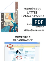 Curriculo Lattes Passo a Passo
