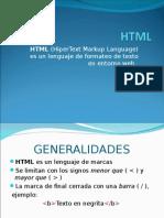 HTML...