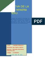 Realidad de La Mineria en El Perú