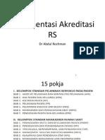 presentasi cara pembuatan dokumentasi Akreditasi Rs Lengkap