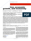 Population Econ Growth and Inclusivity_IJPST_April2015