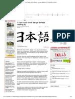 7 Tips Cepat Untuk Belajar Bahasa Jepang (1) _ Republika Online