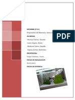 1º Informe Preparacion Del Material y Area de Trabajo22