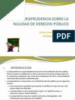Carlos Carmona - Jurisprudencia Sobre La Nulidad de Derecho PA_oblico