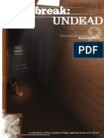 Outbreak Undead - Free Content Friday Annual Volume 2