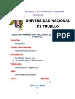 Monografía Virus Informático