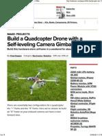 como crear un dron