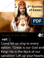 Easter Divine Mercy 2015