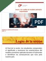 Sesion 10 Fujimori y La Vuelta Al Modelo Primario Exportador
