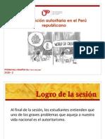La Tradicion Autoritaria en El Peru
