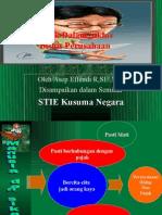 Pajak Dalam Siklus Bisnis (materi seminar) by Asep E USB YPKP