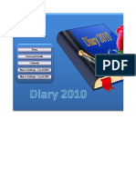Diary Personal Details Calendar Macro Settings