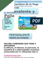 Vacuna Penta y Polio
