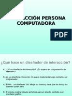 Interaccion Persona Computadora