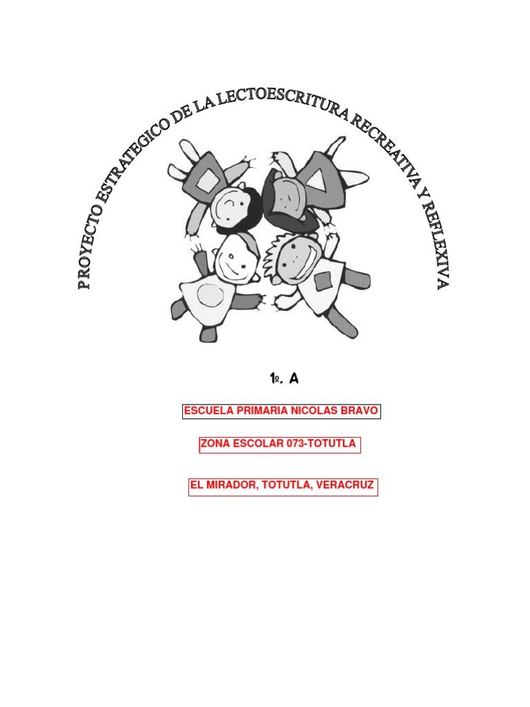 Proyecto De Lectoescritura