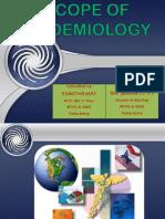 Scope of Epidemiology
