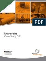 241 Storm CIE Sharepoint Case Study