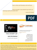 SM_Group 6_Sec F_The Story of Micromax