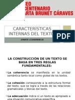 Características Internas Del Texto 1