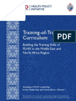 1023 1 HPI MENA Vol 1 Training of Trainers Curriculum Buil