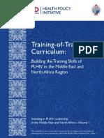 1023 1 HPI MENA Vol 1 Training of Trainers Curriculum Buil