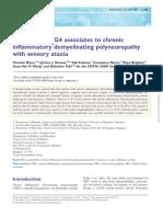 Contactin 1 IgG4 Associates to Chronic