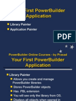 First Application Powerbuilder