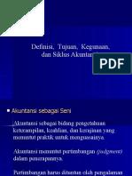 Definisi, Tujuan, Kegunaan, Dan Siklus Akuntansi