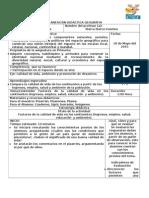1Planificación Geografia, VBloque Quinto Grado