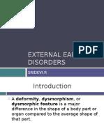 External Ear Disorders