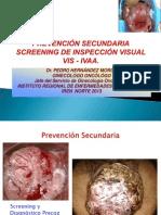 Inspección Visual con Ácido Acético, IVAA Screening Cervical Set 2013