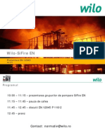 Wilo SiFire en Norm 2015