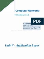 Computer Networks-Unit 5