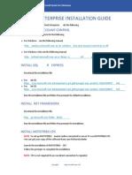 Copyright © 2011Neocom Software, Ltd. TRBONET ENTERPRISE INSTALLATION GUIDETRBOnet Ent QuickInstallGuideWindows 7