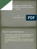 Peraturan Pencegahan Tubtukan Laut 2