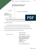 AGENCE FRANCE PRESSE v. GOOGLE INC. - Document No. 7