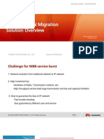 Huawei SingleRAN IP Migration Solution