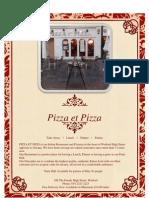 Pizza ET Pizza Menu