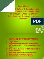 DAO 98-20 Sales & leases of Public Lands (Appraisal).ppt